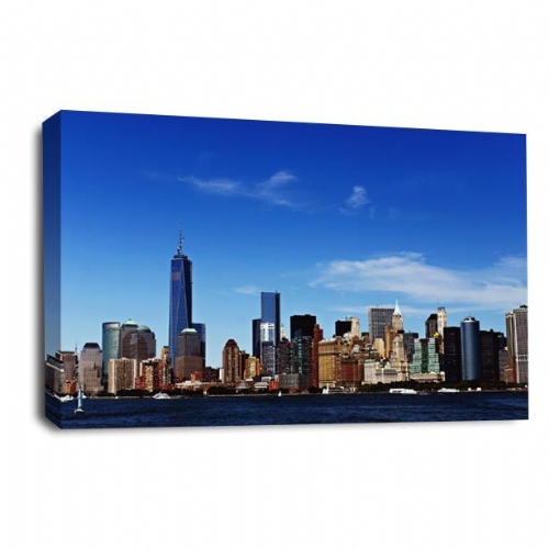 New York Canvas Wall Art Print City Scene Skyline Picture